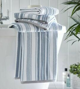 Regency Stripe Luxury Towels. Choice of Hand, Bath Towel or Bath Sheet