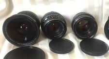 FILMMAKERS! Carl Zeiss Russian Set of 4 Lenses Arri PL Arriflex URSA ARRI