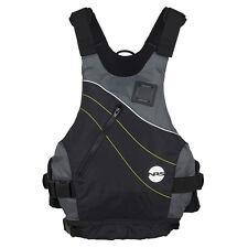 """NRS VAPOR Low-Profile PFD Life Vest - BLACK XXL Fits 42-50"""" chest"""