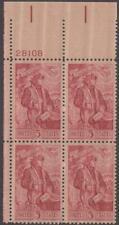 Scott # 1268 - Us Plate Block Of 4 - Dante Alighieri - Mnh - 1965