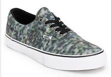 New Vans Mens 9 Era Pro Classics Static Black Casual Skate Low Sneakers Shoes