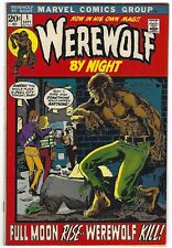 WEREWOLF BY NIGHT #1, MARVEL 1972,  VF CONDITION, SERIES BEGINS!!