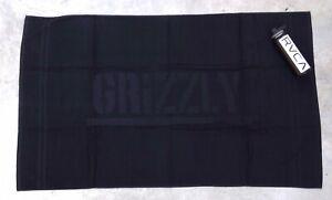 New Grizzly Griptape Summer Script Black Towel Beach Measures: 36 x 61 RBCK-244