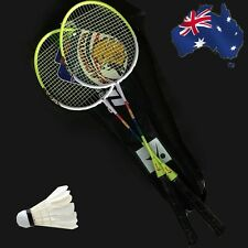 2 Players Badminton Set 2 Racquets Rackets & Shuttlecock OBADM95+OBADM01