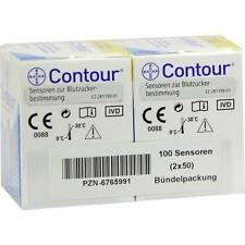 CONTOUR Sensoren Teststreifen 100St Teststreifen PZN 6765991