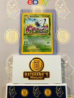 Butterfree 33/64 1st Edition NM Near Mint Jungle Set Non-Holo Pokemon Card