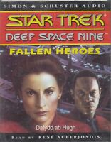 Star Trek Deep Space Nine Fallen Heroes 2 Cassette Audio Book Dafydd Ab Hugh