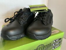 Interceptor Knight Men's 7.5 Leather Oil & Slip Resistant Tactical Footwear NIB