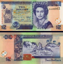 BELIZE - 2 Dollars 2014 FDS - UNC