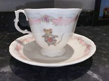 Royal Doulton Cup And Saucer ( Brambly Hedge -the Wedding)