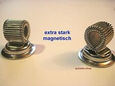 2 x Stifthalter magnetischer Stiftehalter Werkzeughalter Schreibhilfe Magnet