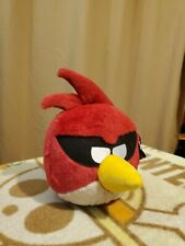 """Angry Birds Space Approx 8"""" Red Bird with Tag"""