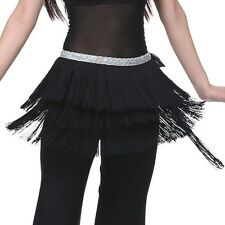US New Belly Dance Costume Tribal Tassel Hip Scarf wrap Belt  Hip Skirt Fringes