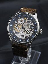 Alpha Skeleton watch pilot style ST3600 6497