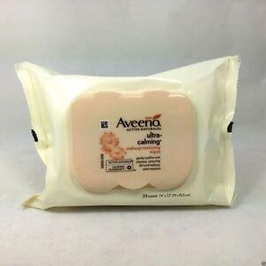 Aveeno Makeup Remover Wipe Ultra Calming 25 Ct