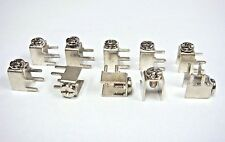 (10) KEYSTONE 7700 TERMINAL SCREW Power Tap 6-32 15A 4-PIN RIGHT ANGLE PCB