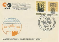 Poland postmark BYDGOSZCZ - sport chess women's tournament (analogous)