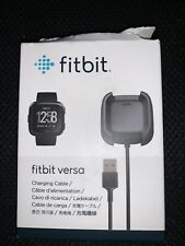 Fitbit Versa Charging Cable - Black ... FREE SHIPPING ... F4