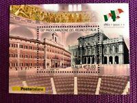 REPUBBLICA 2011 FOGLIETTO 150° PROCLAMAZIONE DEL REGNO D'ITALIA  NUOVO
