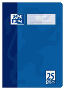 Hamelin Paperbrands Oxford 384401625 School Notepad A4 16 Sheets Line Style 25