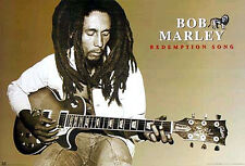 BOB MARLEY - REDEMPTION SONG POSTER - Reggae Music Wall Art