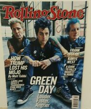 Rolling Stone September 22 2016 Green Day Frank Ocean Kanye West FREE SHIPPING