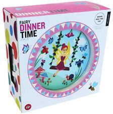NEW Fairy Dinnertime Childrens Five Piece Melamine Dinner Set