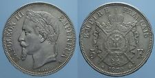 FRANCIA 5 FRANCHI 1870 A NAPOLEONE III qSPL