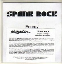 (CP787) Spank Rock, Energy - 2011 DJ CD