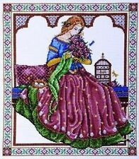 "Dama Del Renacimiento Cross Stitch Kit 13"" x15"" Design Works 2705"