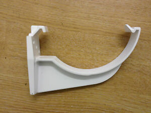 Flo Plast RK1 112mm White Fascia Brackets (Pack of 9)