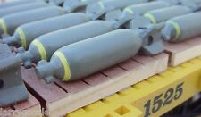 Bomb Miniatures WW2 Style For Your Model Train Scenery and Freight Dioramas