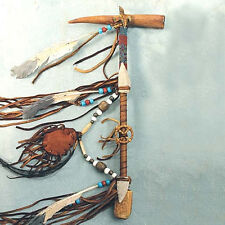 HANDMADE NATIVE AMERICAN INDIAN AUTHENTIC NAVAJO ANTLER FUNCTIONAL PEACE PIPE