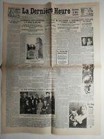 N293 La Une Du Journal la dernière heure 31 octobre 1929 la débâcle accentuee