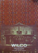 Wilco Gig Poster, Chicago 2011 (Original Silkscreen) 18 x 24' Print