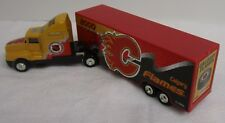 NHL 2000 Calgary Flames Truck Trailer Metal Die Cast Scale 1:80