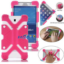 """Rose Universal Kids Safe Shockproof Silicone Cover Case For 7"""" ~ 10.1"""" Tablet PC"""