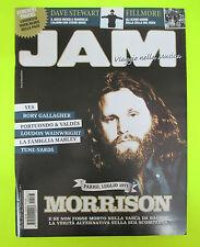 Rivista  JAM 183/2011 Jim Morrison Rory Gallagher Fillmore Yes Eurithmics Nocd