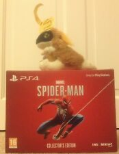 RARE Spiderman collectionneurs Statue Edition sur PLAYSTATION 4 PS4 Steelbook Limited