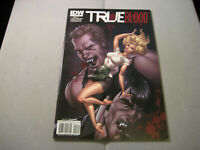TRUE BLOOD #2 Scott Cambell Variant Cover (2010, IDW Comics)