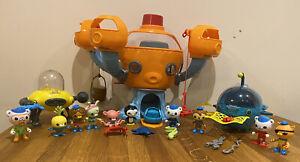 Octonauts Complete Octopod Playset, Working Octoalert, Full Crew, Gup A, Gup D.