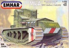 EMHAR 1/72 British MkA WHIPPET WWI Tank 5004