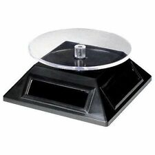 Solar Spinner: Solar Powered Rotary Display Stand for Metal Earth Models etc