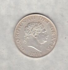 1819 GEORGE III SILVER HALF CROWN IN GOOD EXTREMELY FINE CONDITION