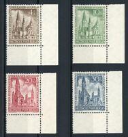 Berlin MiNr. 106-09 postfrisch MNH Eckrand unten rechts (U171