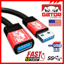 1.5ft//3ft//6ft USB3.0 Type A Male to A Female Extension Cable for PC MagiDeal