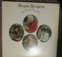 The Staple Singers ‎Be What You Are LP record Stax ‎STS-3015 Funk Soul VG+