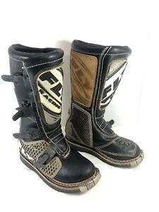 Men's Fly Racing Motorcross boots 805 Black Sz 7