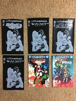 (Lot Of 6) DC Comics Harley Quinn Related Comics.