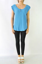 Zara Cotton Blend Casual Tops for Women